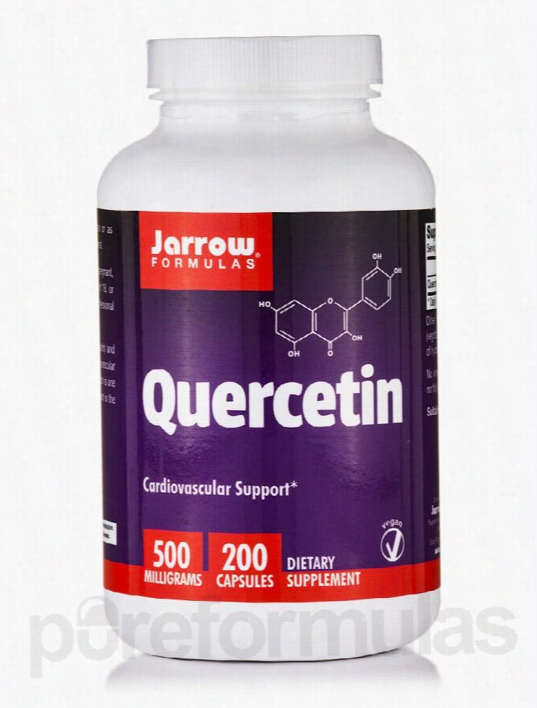 Jarrow Formulas Cardiovascular Support - Quercetin 500 mg - 200