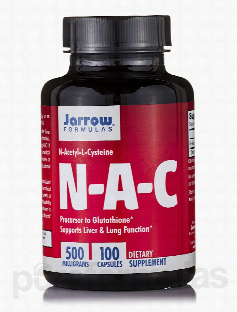 Jarrow Formulas Cellular Support - N-A-C 500 mg - 100 Capsules