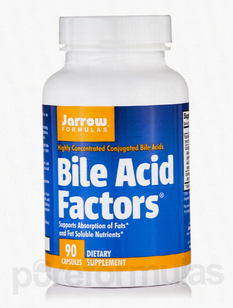 Jarrow Formulas Gastrointestinal/Digestive - Bile Acid Factors 333 mg