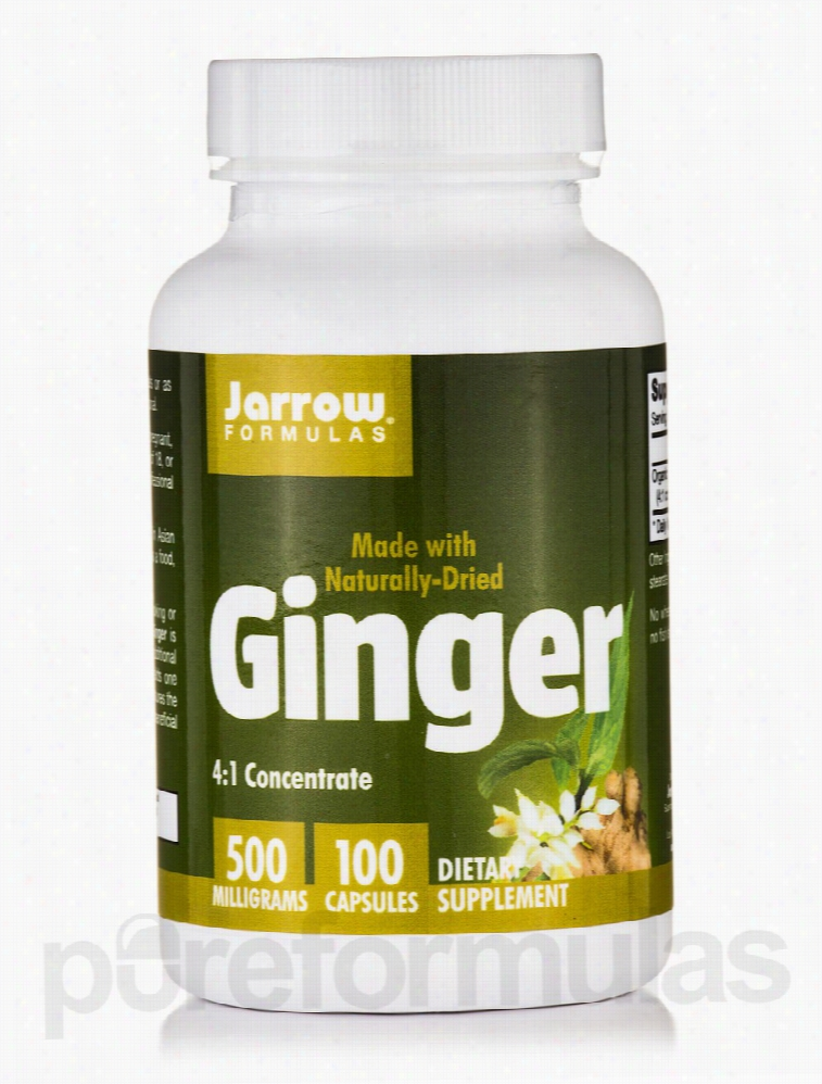 Jarrow Formulas Herbals/Herbal Extracts - Ginger Concentrate 500 mg -