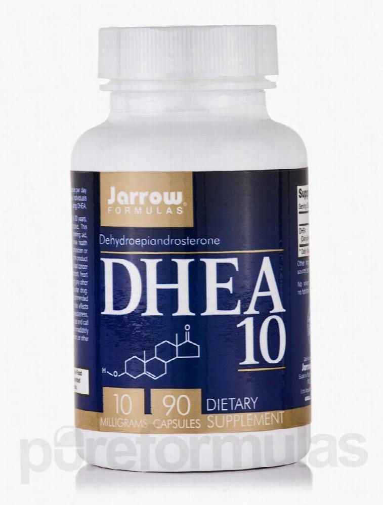 Jarrow Formulas Hormone/Glandular Support - DHEA 10 mg - 90 Capsules
