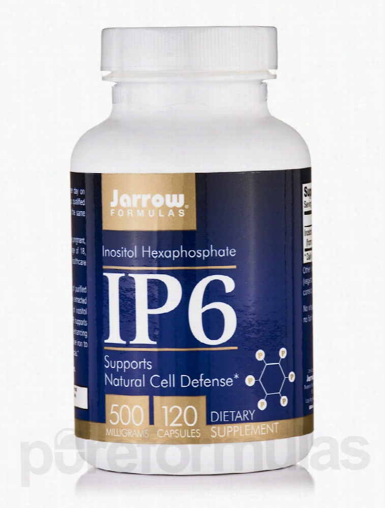 Jarrow Formulas Immune Support - IP6 500 mg - 120 Capsules