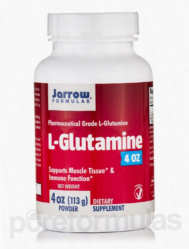 Jarrow Formulas Immune Support - L-Glutamine - 4 oz (113 Grams)