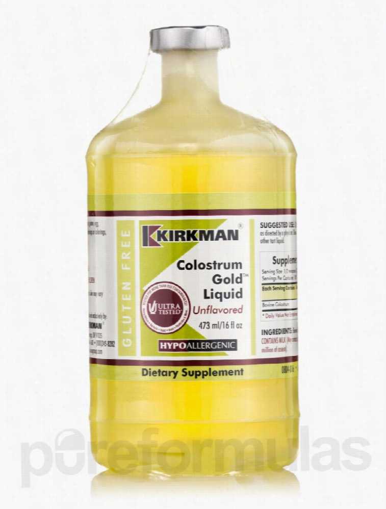 Kirkman Immune Support - Colostrum Gold Liquid Unflavored