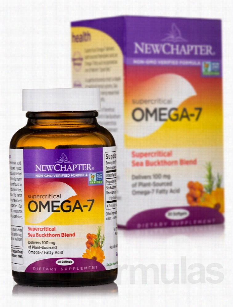 NewChapter Essential Fatty Acids - Supercritical Omega-7 - 30 Softgels