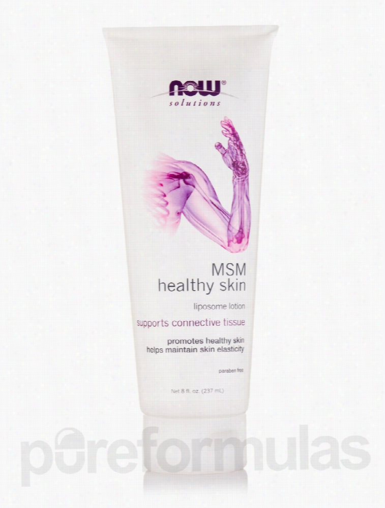 NOW Joint Support - NOW Solutions - MSM Healthy Skin Liposome Lotion