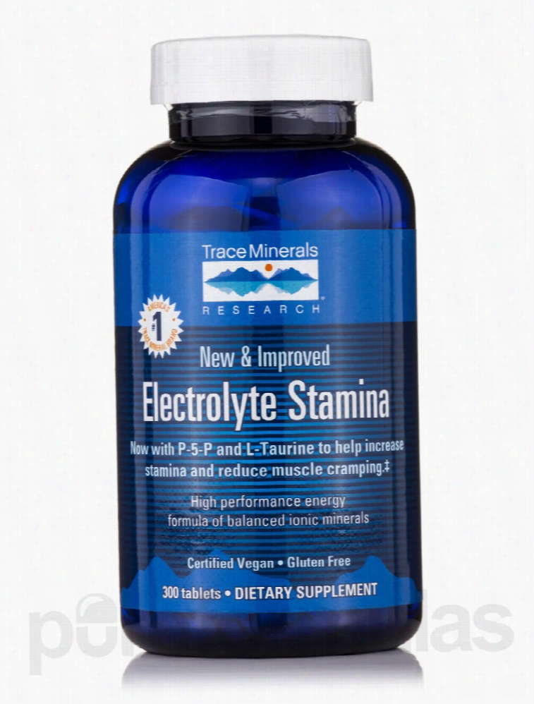 Trace Minerals Research Energy - Electrolyte Stamina - 300 Tablets