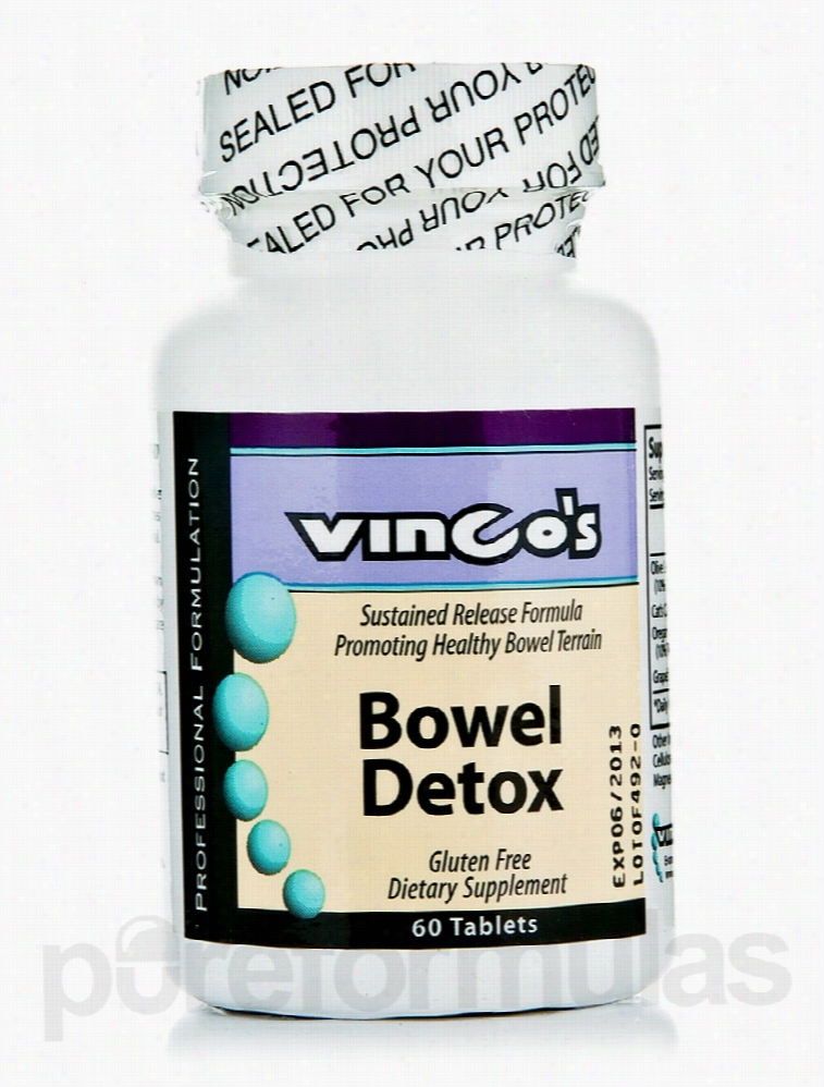 Vinco Detoxification - Bowel Detox - 60 Tablets