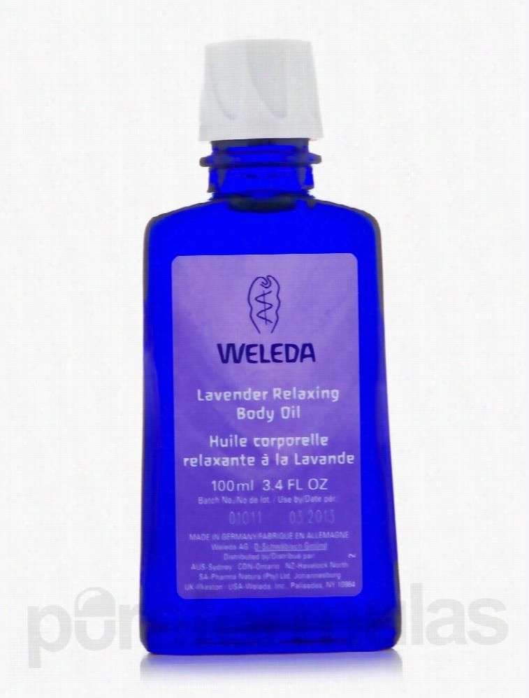 Weleda Bath and Body - Lavender Relaxing Body Oil - 3.4 fl. oz (100