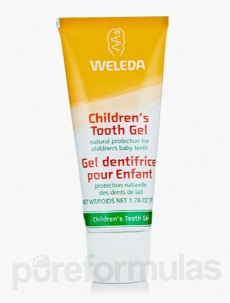 Weleda Oral Health - Children's Tooth Gel - 1.78 oz (51 Grams)