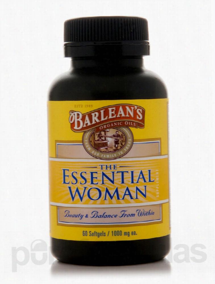 Barlean's Organic Oils Essential Fatty Acids - Essential Woman 1000 mg