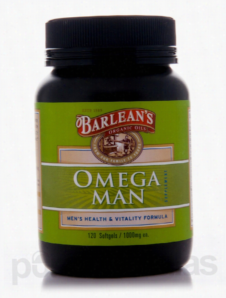 Barlean's Organic Oils Essential Fatty Acids - Omega Man 1000 mg - 120