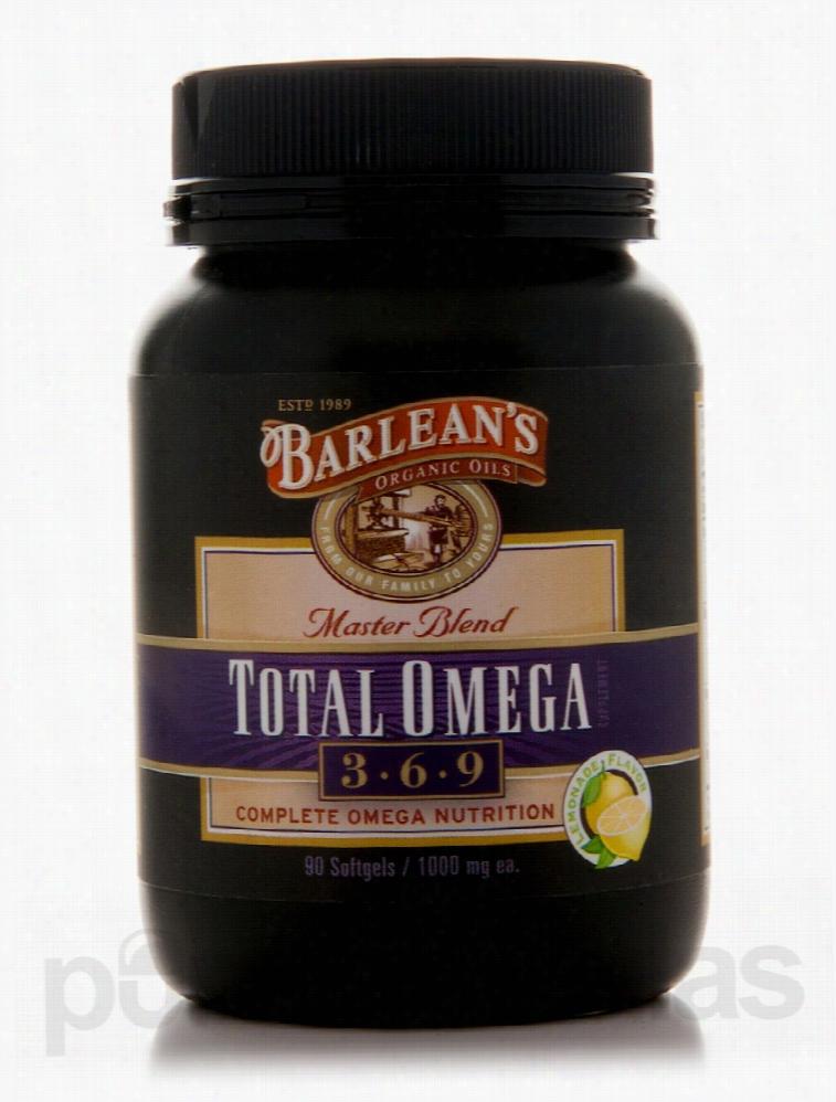 Barlean's Organic Oils Essential Fatty Acids - Total Omega 3-6-9 1000