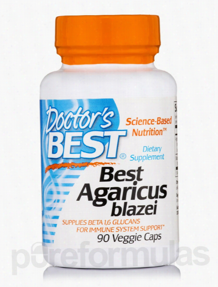 Doctor's Best Immune Support - Best Agaricus blazei - 90 Veggie