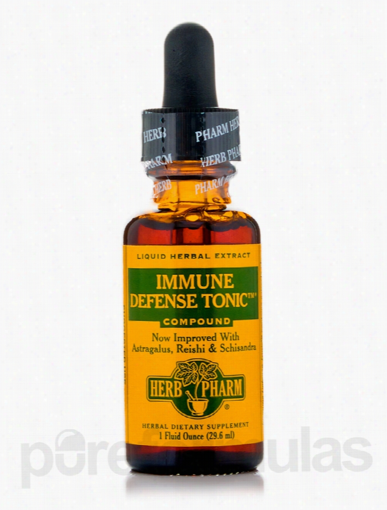 Herb Pharm Herbals/Herbal Extracts - Immune Defense Tonic Compound - 1