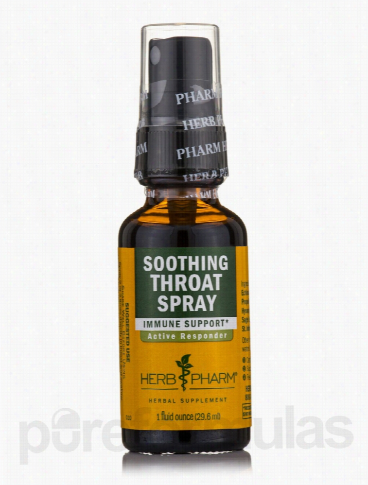 Herb Pharm Herbals/Herbal Extracts - Soothing Throat Spray - 1 fl. oz