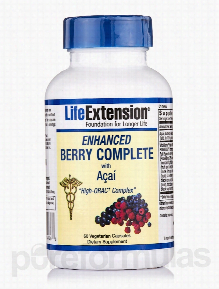 Life Extension Cellular Support - Enhanced Berry Complete with RZD