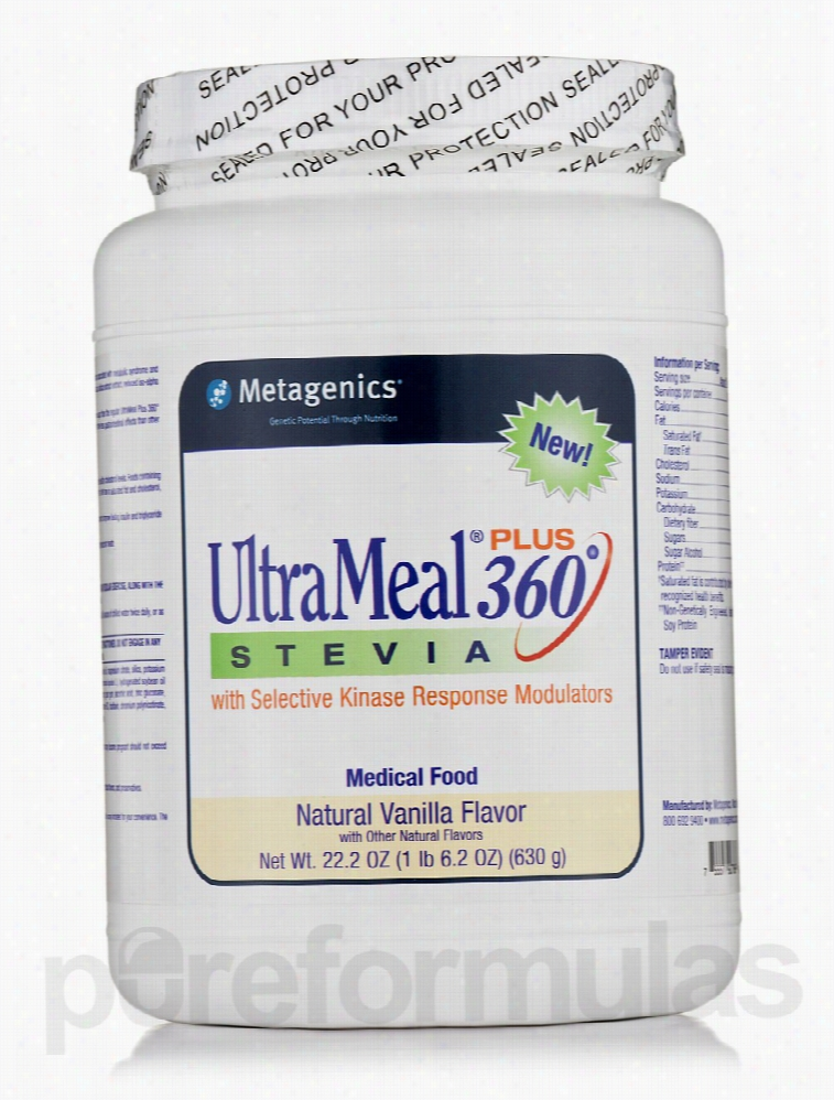 Metagenics Metabolic Support - UltraMeal Plus 360 Stevia Medical