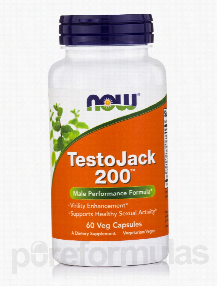 NOW Men's Health - TestoJack 200 - 60 Veg Capsules