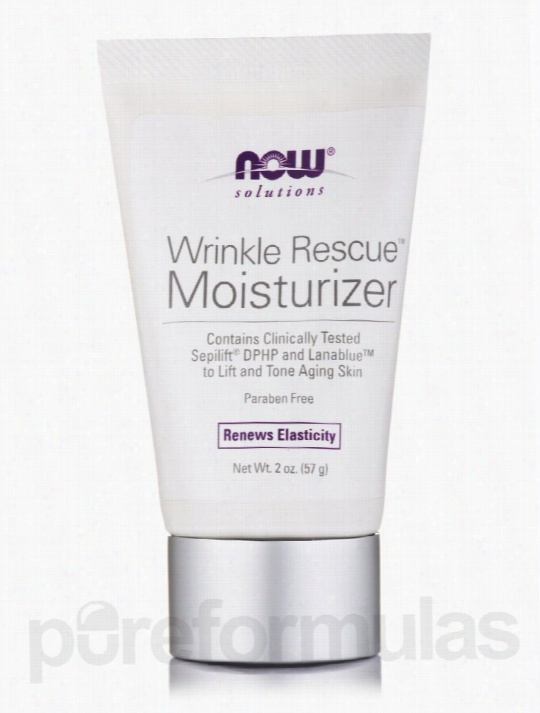 NOW Skin Care - NOW Solutions - Wrinkle Rescue Moisturizer - 2 oz