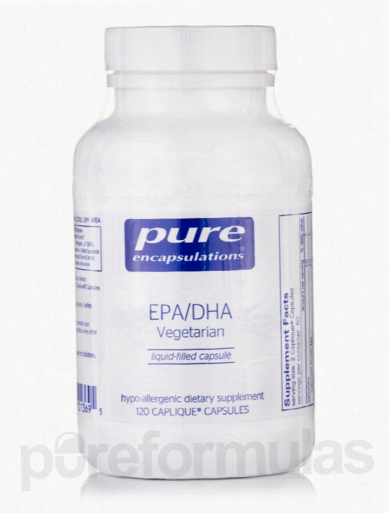 Pure Encapsulations Cardiovascular Support - EPA/DHA Vegetarian - 120