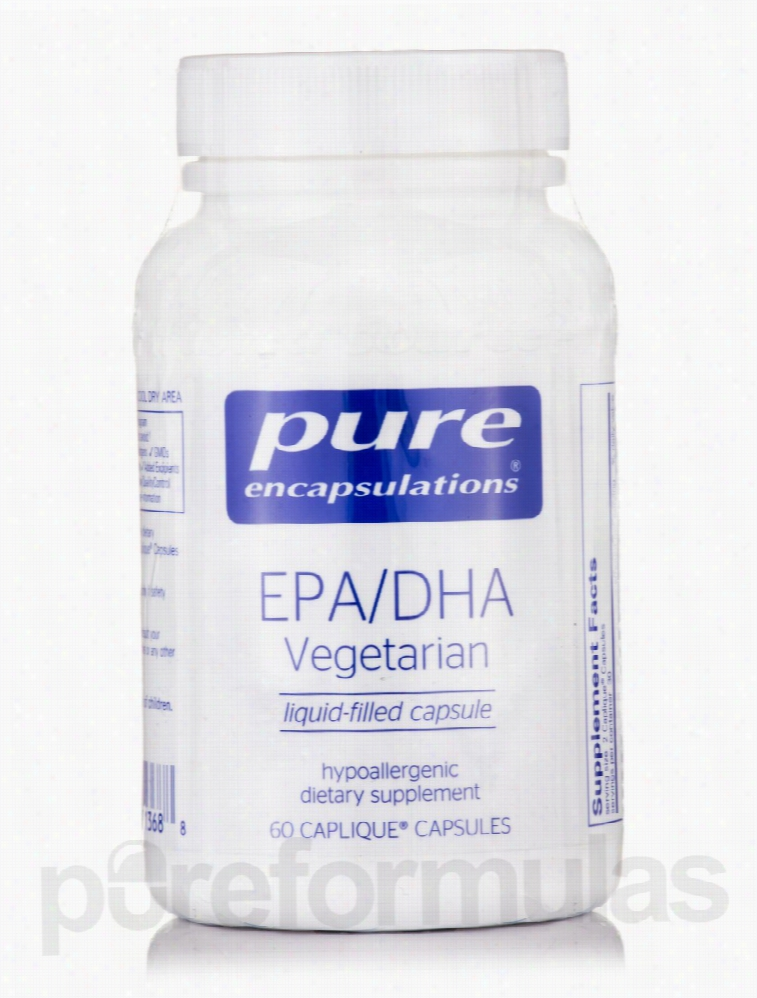 Pure Encapsulations Cardiovascular Support - EPA/DHA Vegetarian - 60