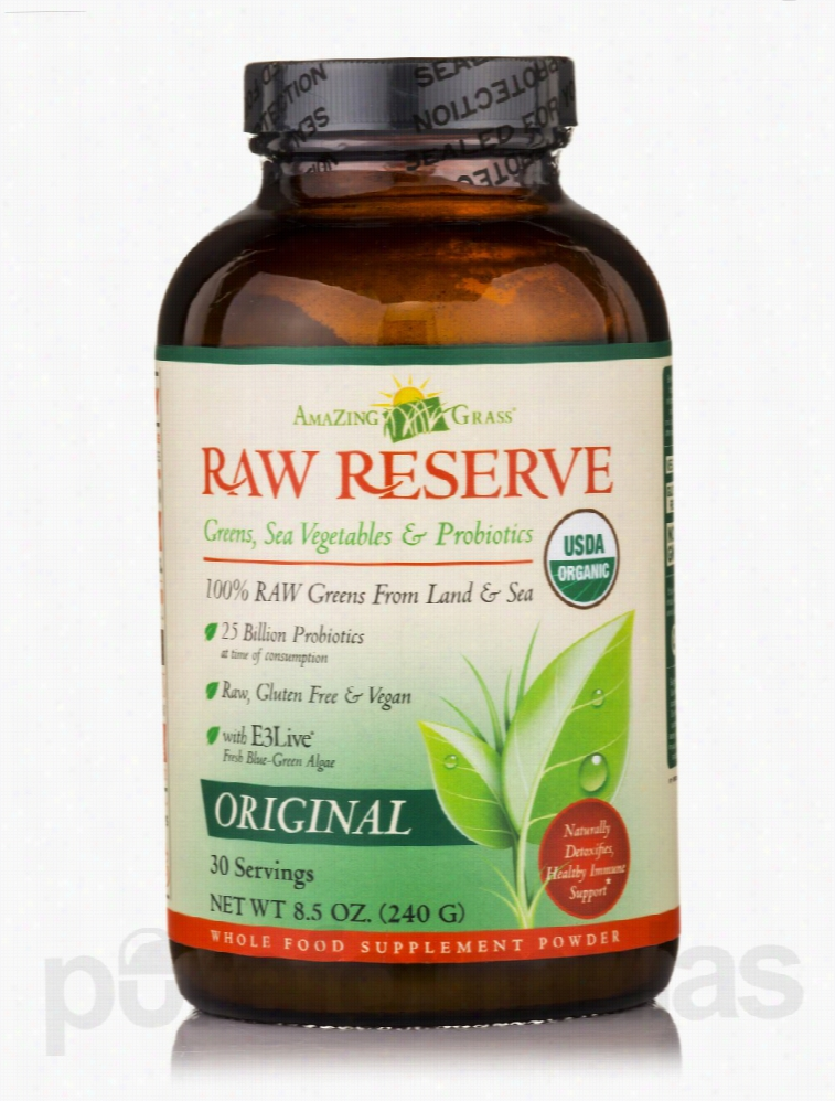 AmaZing Grass Greens and Superfoods - Raw Reserve Greens, Sea