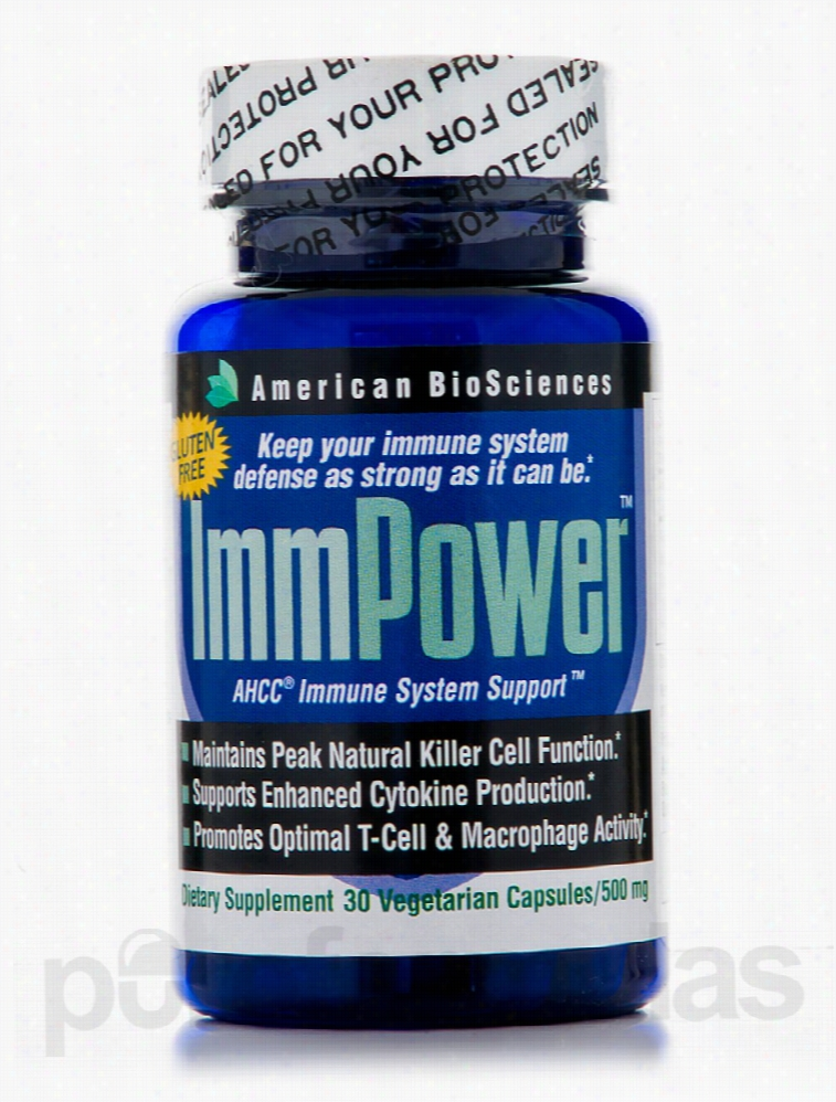 American BioSciences Immune Support - ImmPower AHCC 500 mg - 30