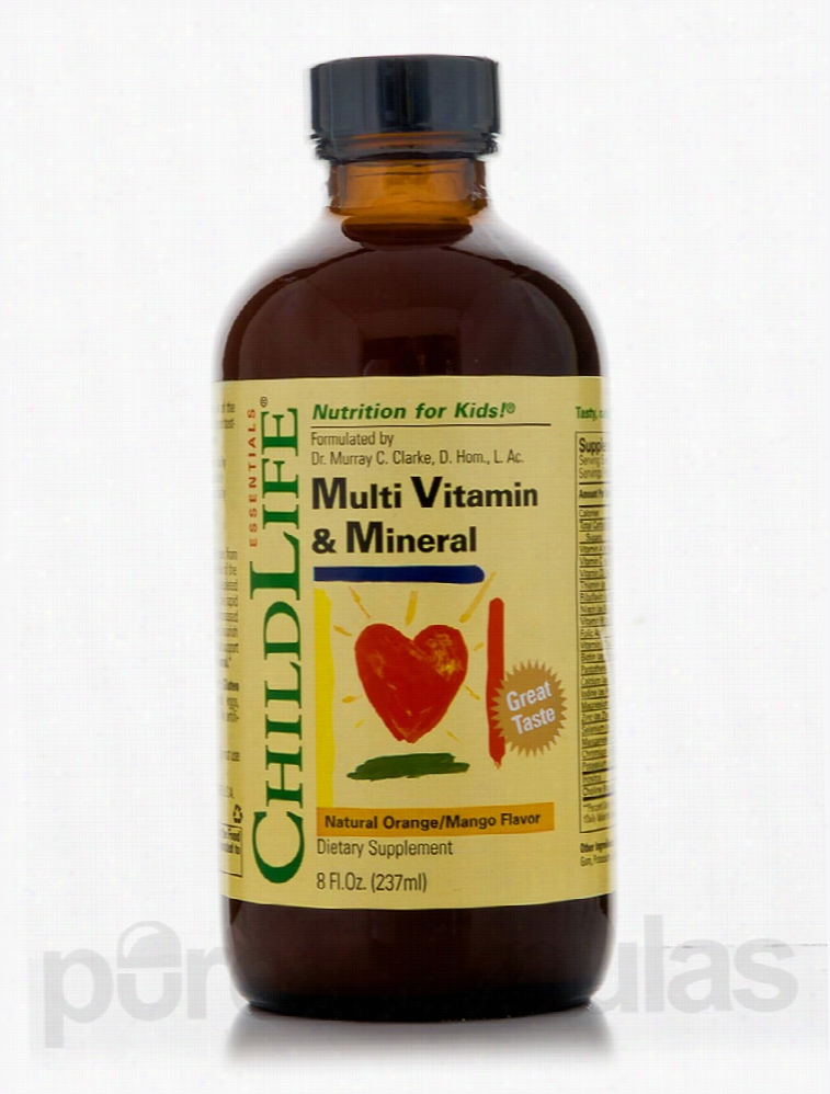 ChildLife Essentials Children's Formulas - Multi-Vitamin & Mineral