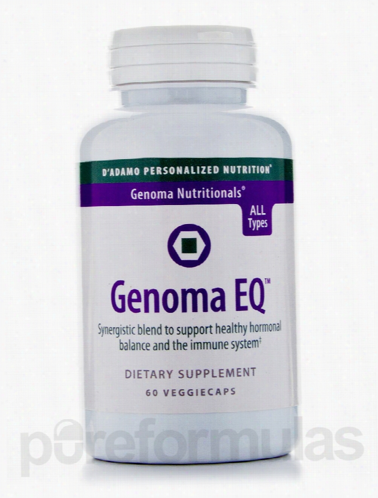 D'Adamo Personalized Nutrition Hormone/Glandular Support - Genoma EQ -