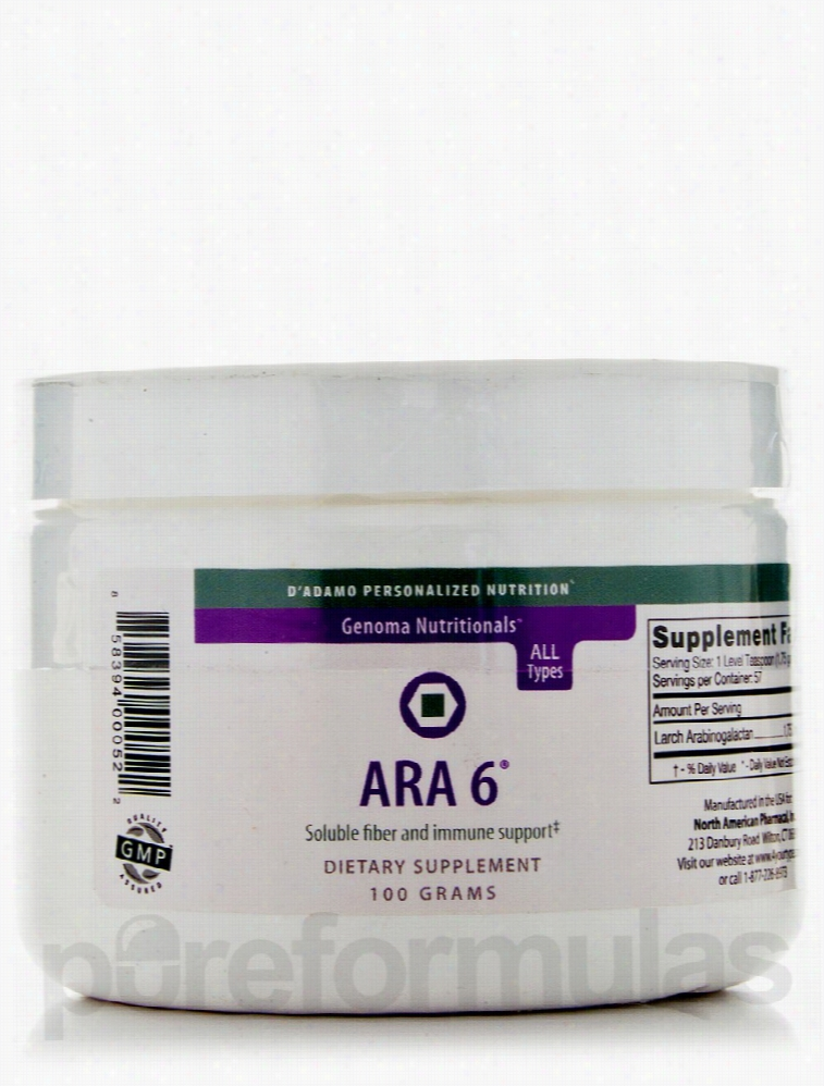 D'Adamo Personalized Nutrition Immune Support - ARA 6 (Pure Larch
