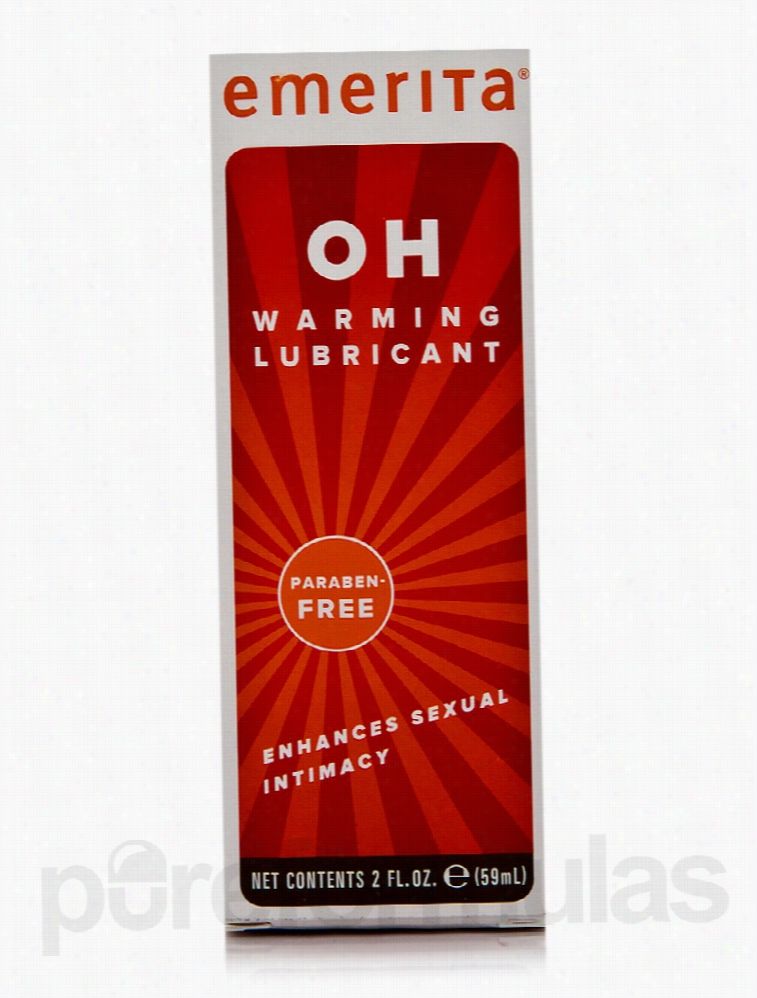 Emerita Sexual Wellness - OH Warming Lubricant Paraben-Free - 2 fl. oz