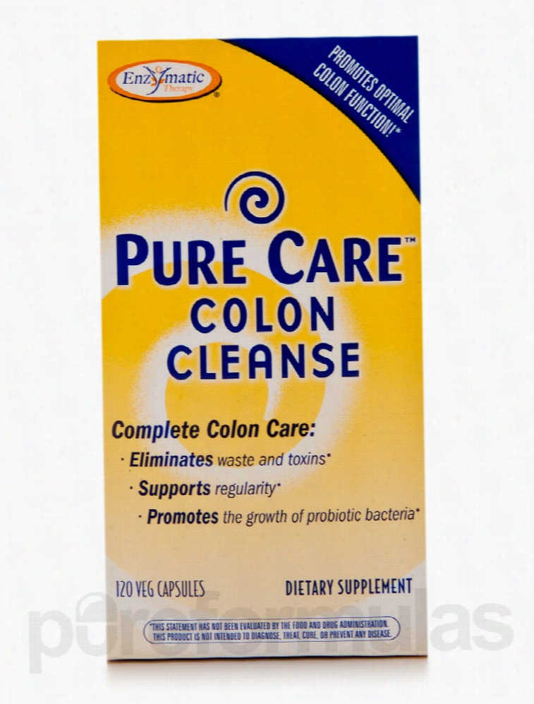 Enzymatic Therapy Detoxification - Pure Care Colon Cleanse - 120