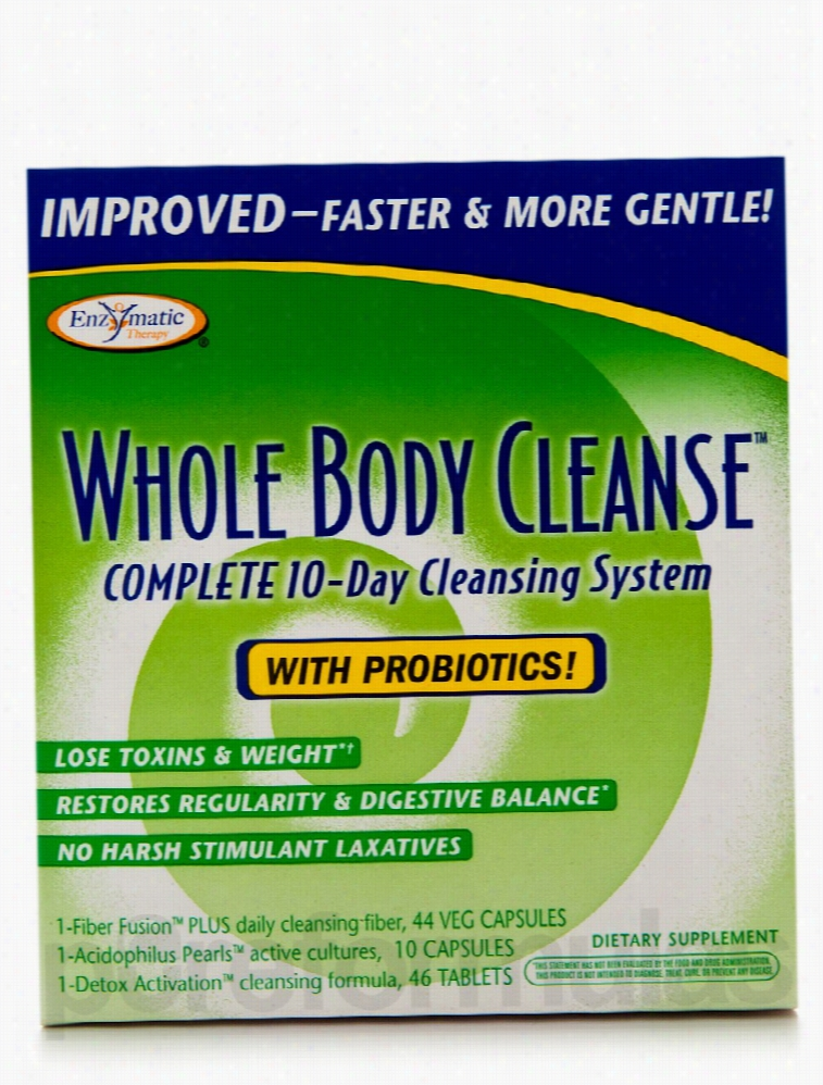 Enzymatic Therapy Detoxification - Whole Body Cleanse Kit with
