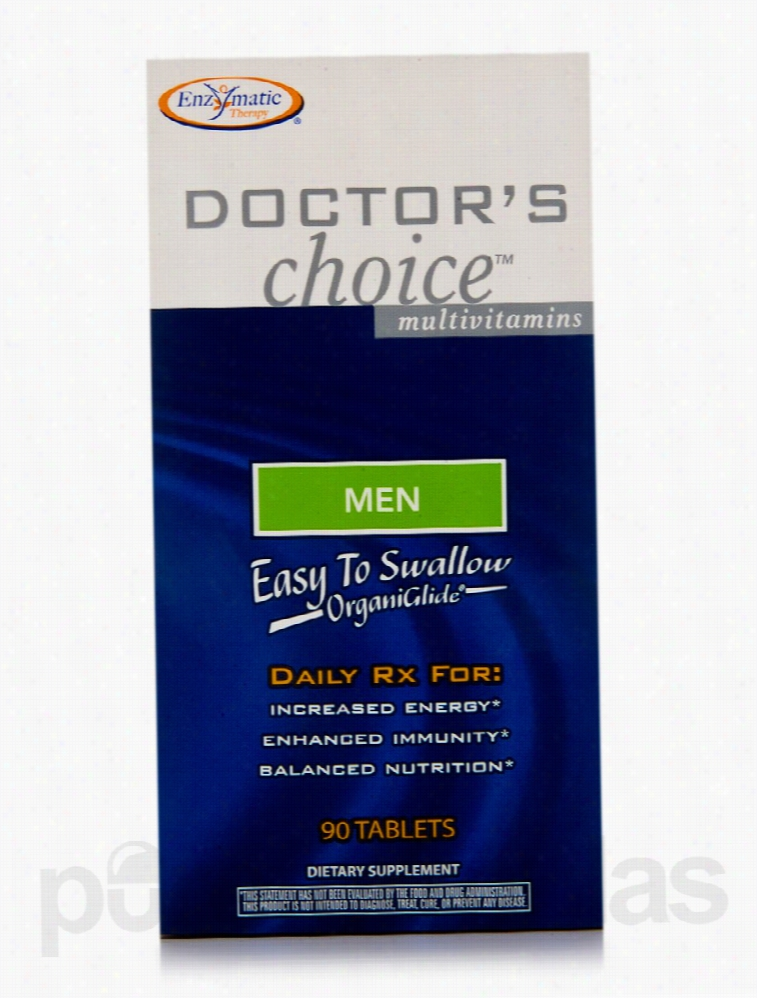 Enzymatic Therapy Men's Health - Doctor's Choice Men - 90 Tablets