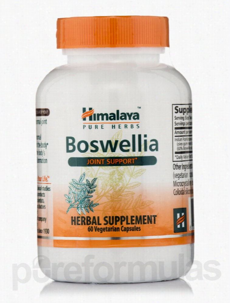 Himalaya Herbal Healthcare Herbals/Herbal Extracts - Boswellia - 60