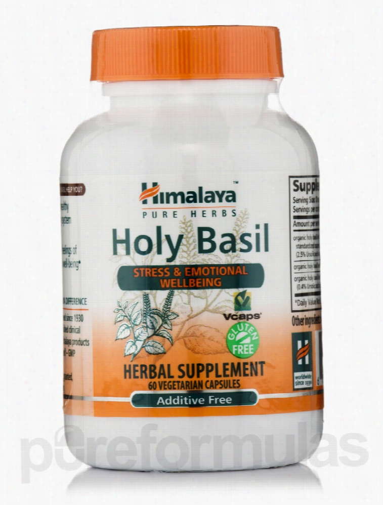 Himalaya Herbal Healthcare Herbals/Herbal Extracts - Holy Basil - 60