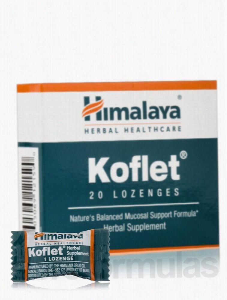 Himalaya Herbal Healthcare Herbals/Herbal Extracts - Koflet - 20