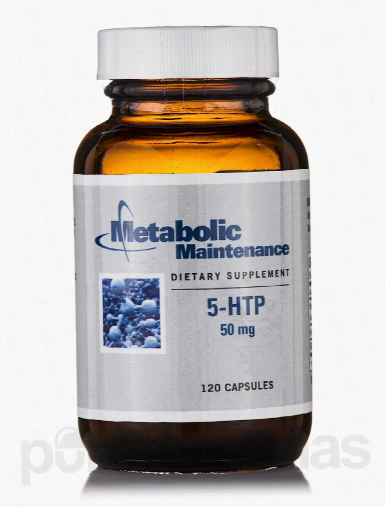 Metabolic Maintenance Nervous System Support - 5-HTP 50 mg - 120