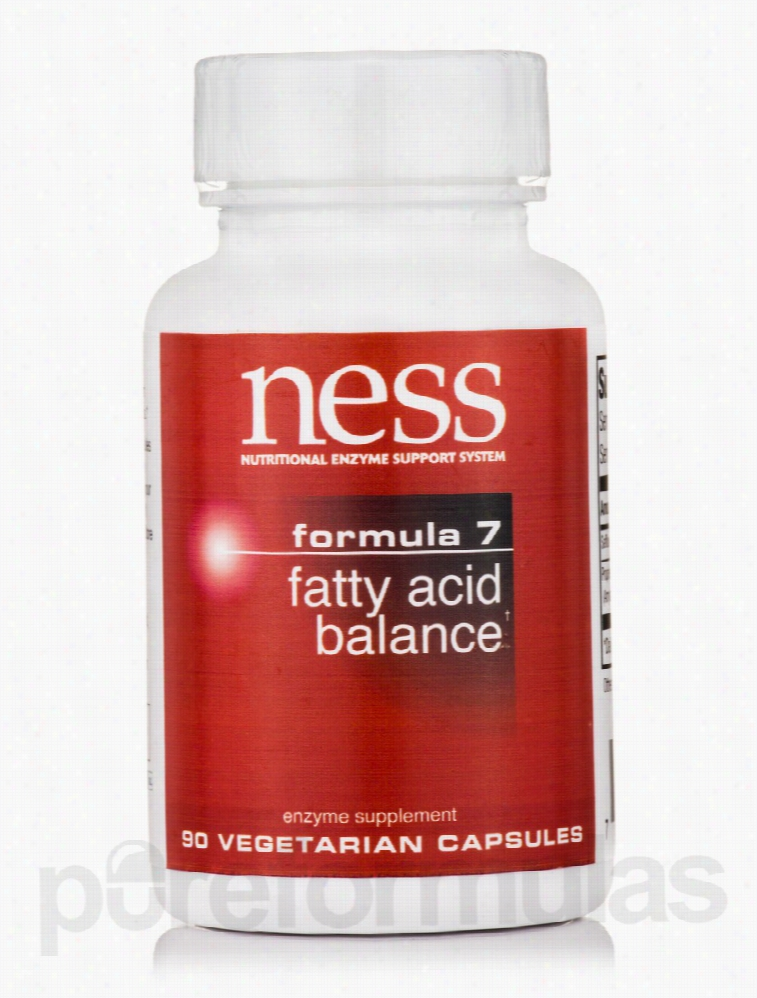 Ness Enzymes Essential Fatty Acids - Fatty Acid Balance (Formula 7) -