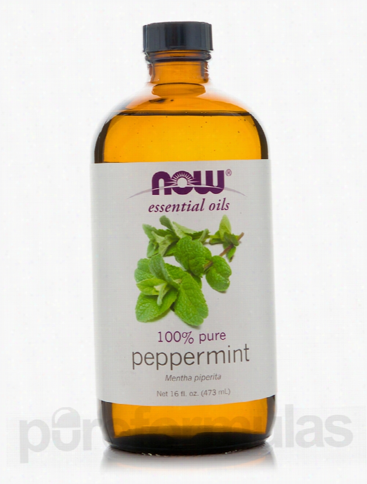 NOW Aromatherapy - NOW Essential Oils - Peppermint Oil (100% Pure) -