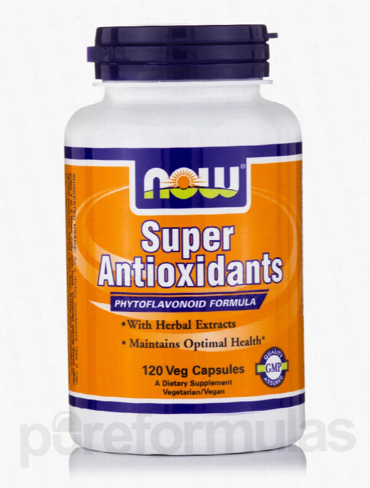 NOW Cellular Support - Super Antioxidants - 120 Vegetarian Capsules