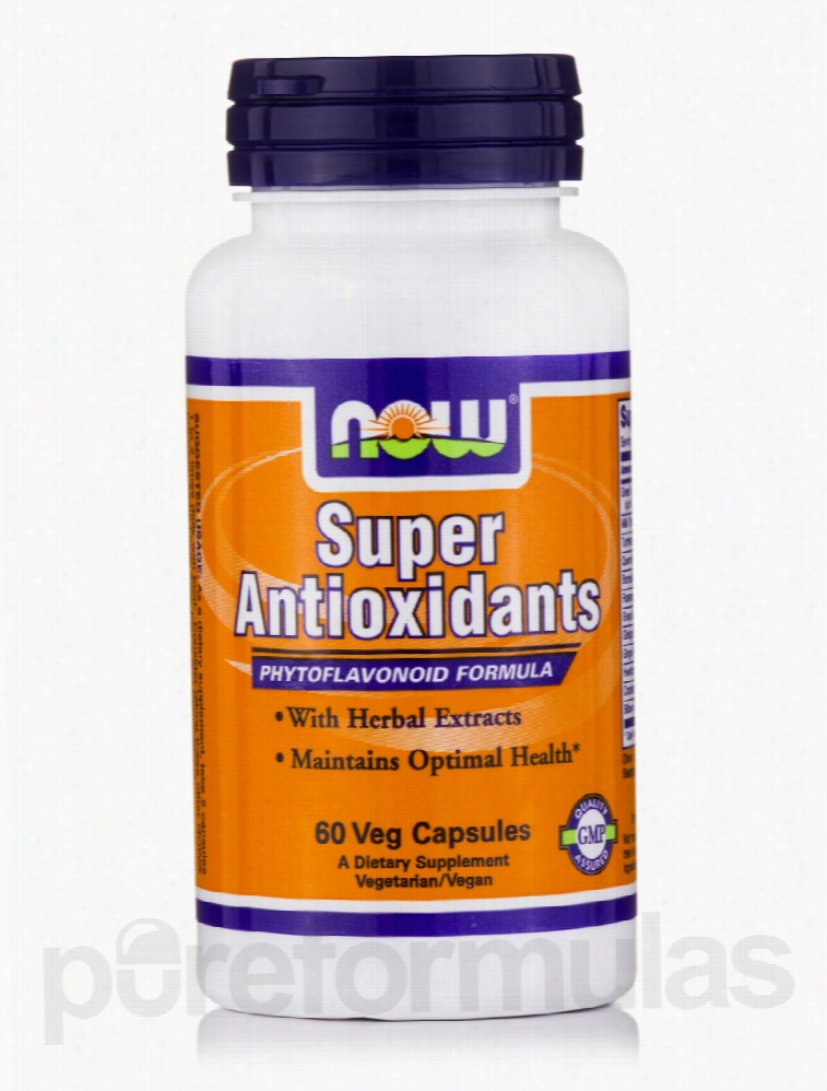NOW Cellular Support - Super Antioxidants - 60 Vegetarian Capsules