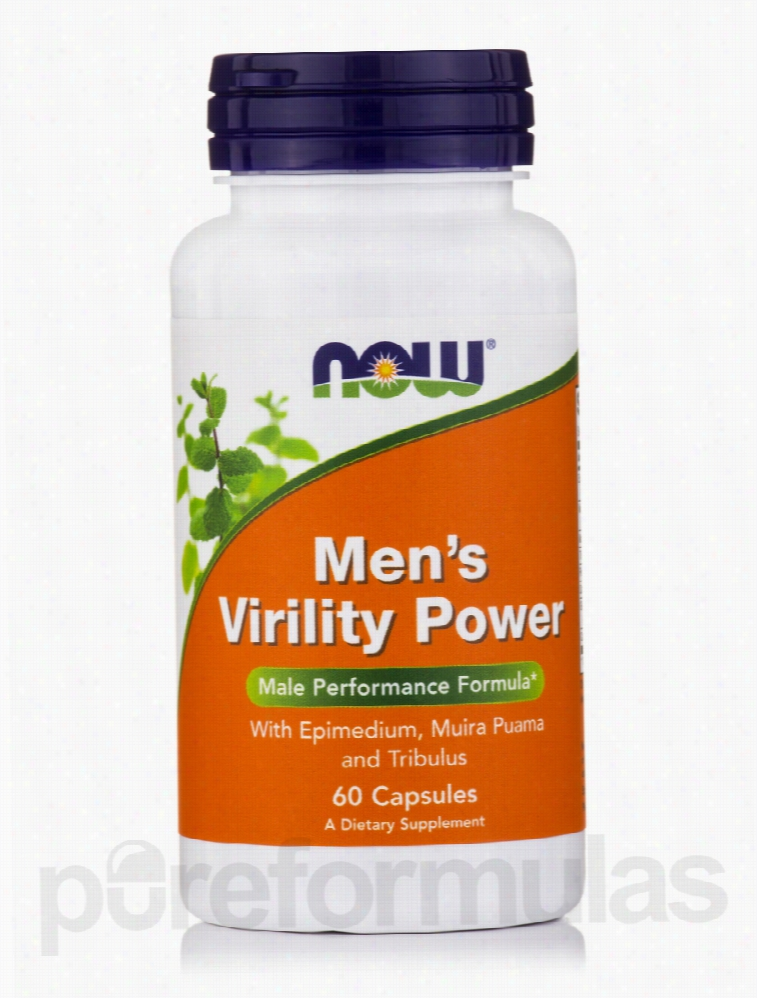 NOW Men's Health - Men's Virility Power - 60 Capsules