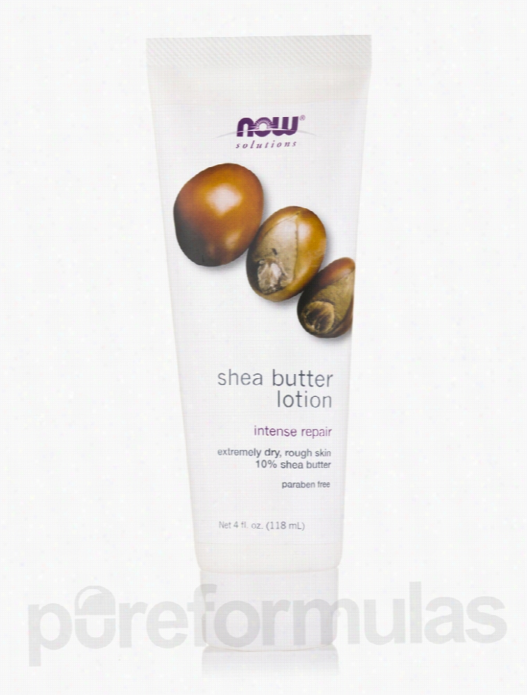 NOW Skin Care - NOW Solutions - Shea Butter Lotion - 4 fl. oz (118