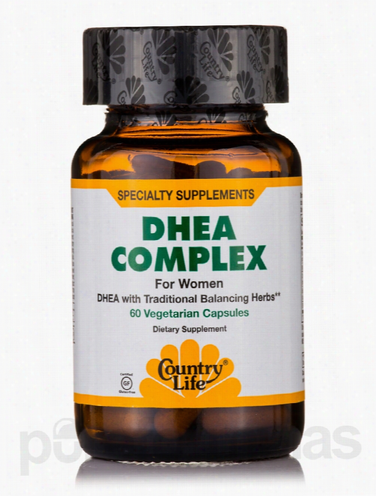 Country Life Cellular Support - DHEA Complex for Women - 60 Vegetarian