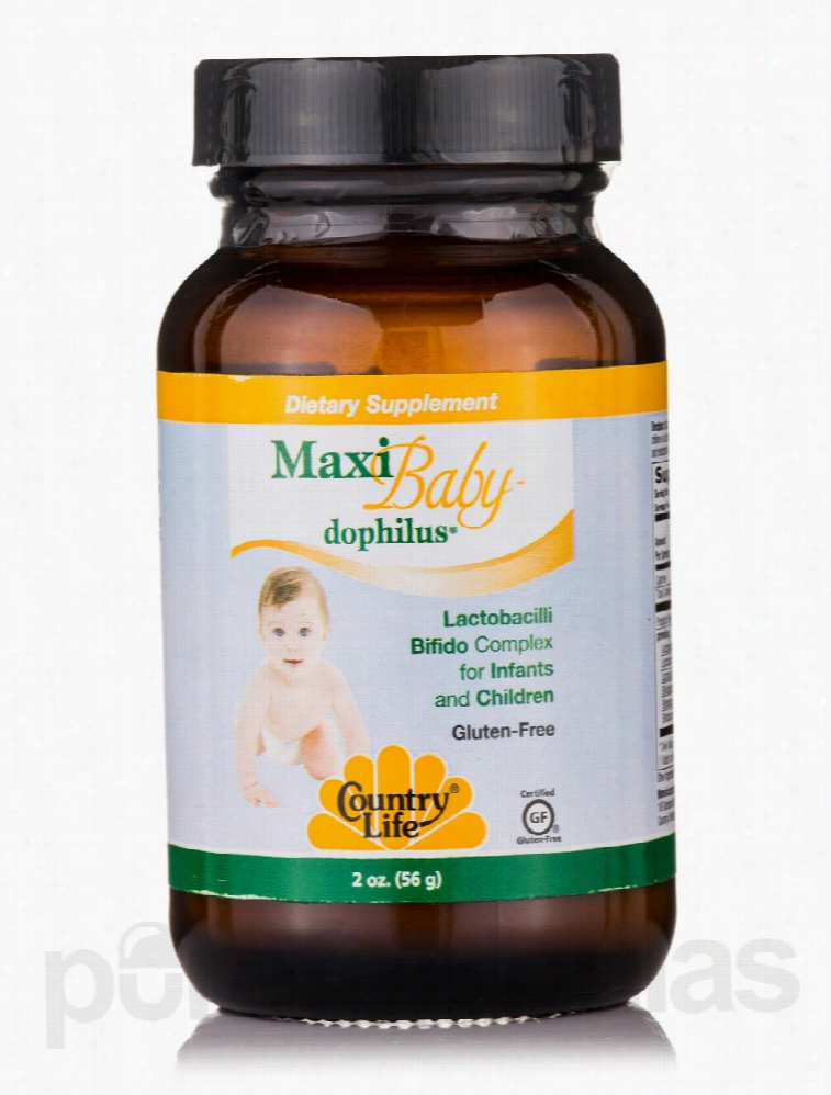 Country Life Children's Formulas - Maxi Baby Dophilus - 2 oz (56