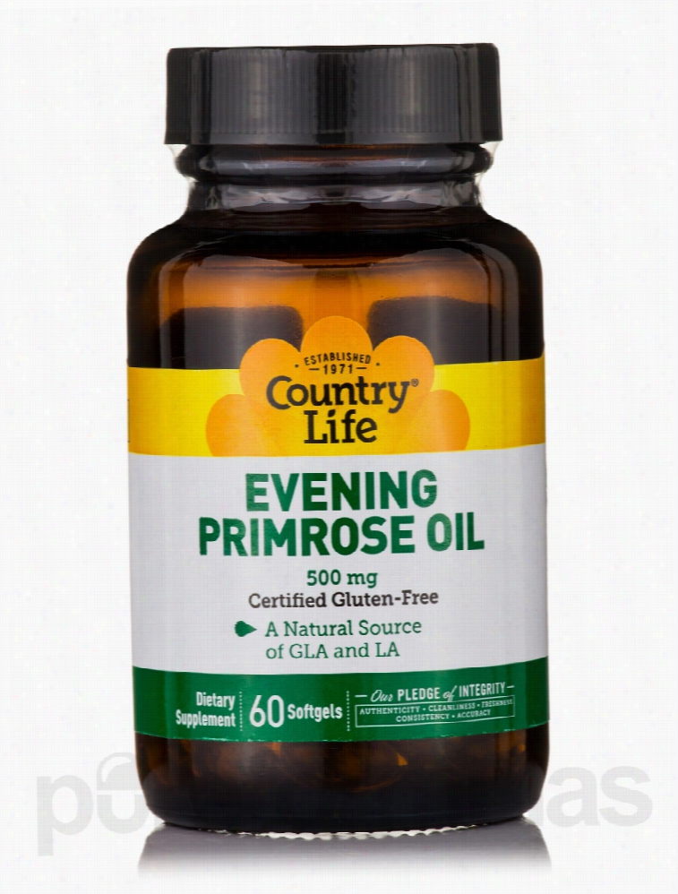 Country Life Essential Fatty Acids - Evening Primrose Oil - 60