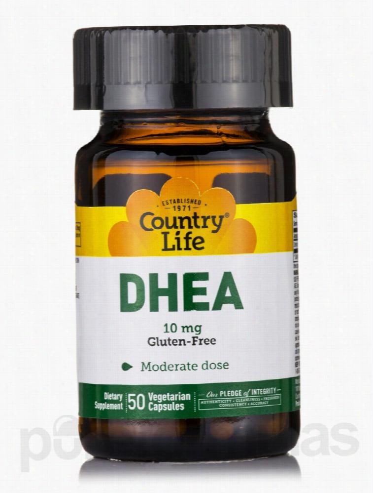 Country Life Hormone/Glandular Support - DHEA 10 mg - 50 Vegetarian