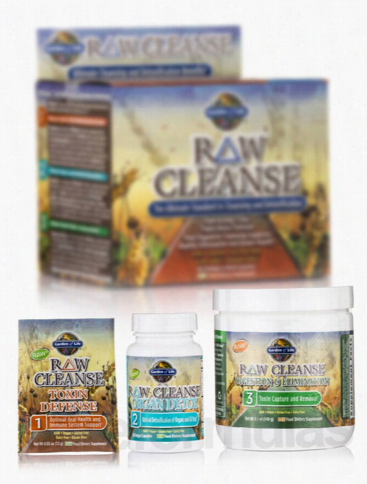 Garden of Life Detoxification - RAW Cleanse - 1 System